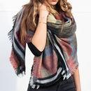 Reversible Apache Blanket Scarf