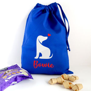 Personalised Dog Storage And Utility Bag