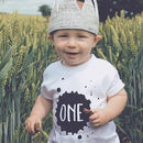 Splat 1st Birthday T Shirt