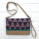 Purple Haze Vegan Clutch Bag / Purse