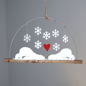 Besotted Bears Hanging Decoration