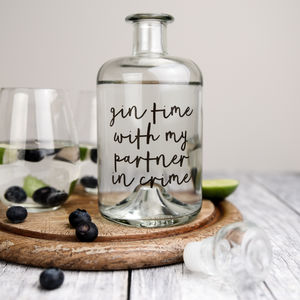 Partner In Crime Decanter - new in home