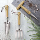 Garden Tools In Wood And Stainless Steel