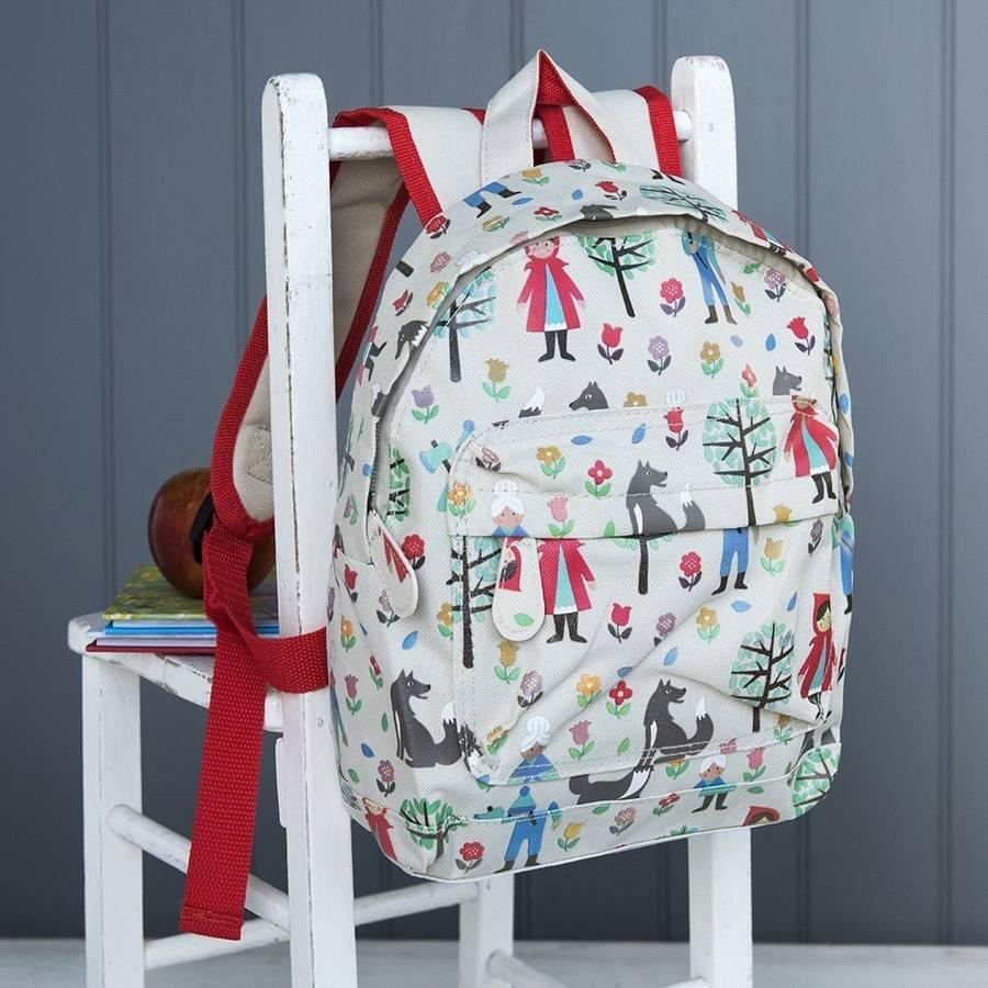 Red Ridinghood Printed Mini Backpack