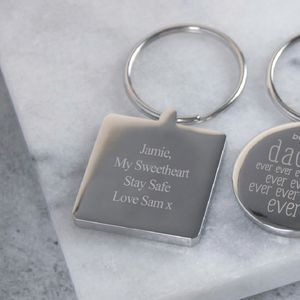 Personalised Keyring - for him