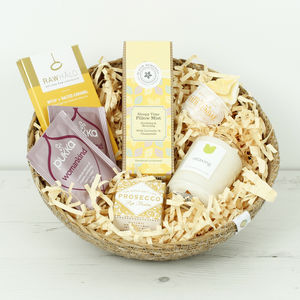 New Mum's Gift Basket - bath & body