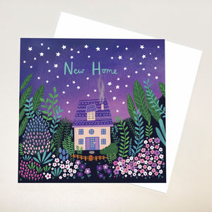 A Magical 'New Home' Card - new home cards