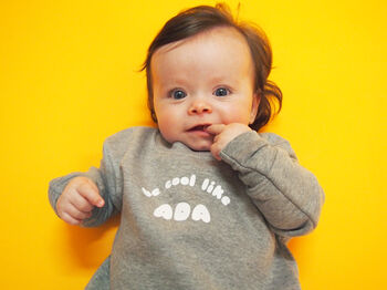 'Cool Like Me' Baby Sweatshirt