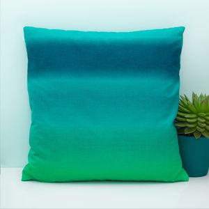 Ombre Cushion - baby's room