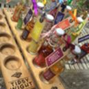 Hedgerow Vodka Collection And Oak Serving Paddle