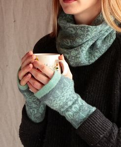 Cosy Wool Fingerless Mittens