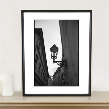 Street Lamp, Prague Photographic Art Print