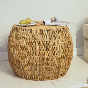 Wicker Coffee Table Round - coffee tables