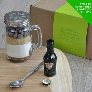 Baileys Irish Cream Infused Dark Chocolate Mug Cake Kit