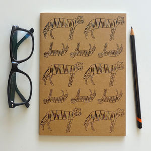 'Hungry Tiger' Notebook - writing