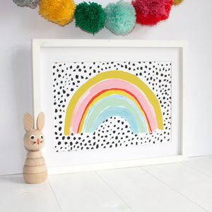Rainbow Print - pictures & prints for children