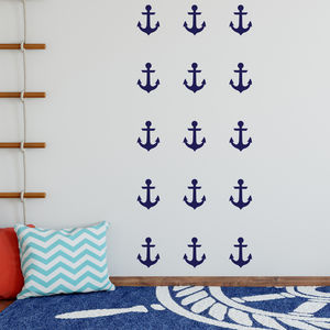 Anchor Decorative Wall Stickers - children's room accessories