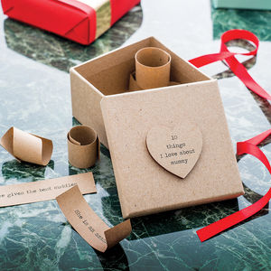 Personalised '10 Things I Love About…' Box - gifts for him