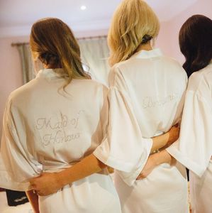 Personalised Wedding / Hen Party Dressing Gown - view all