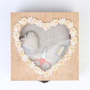 Personalised Heart Sewing Box