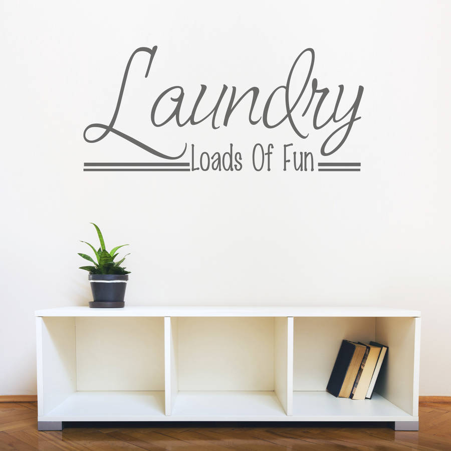Laundry room wall art quote by mirrorin for Laundry room wall art