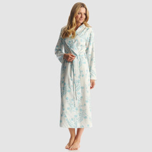 Womens Floral Print Dressing Gown - shop by price