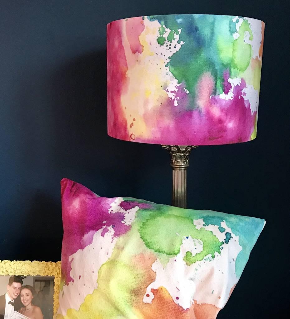 Abstract Velvet Cushions