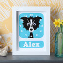 Personalised Framed Dog Clocks