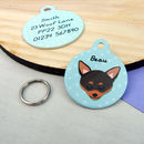 Chihuahua Personalised Dog ID Tag