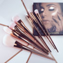 7pc Rose Gold Brush Set