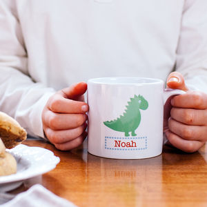 Personalised Dinosaur Children's Mug
