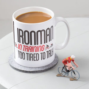 Ironman / Triathlete In Training Mug