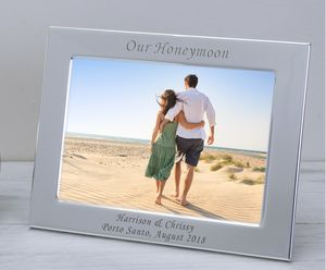 Bespoke Silver Plate Frame - picture frames