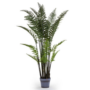 Ornamental Faux Potted Fern Plant - artificial plants
