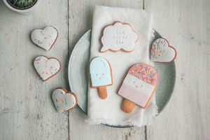 Mum, You're Fab Biscuit Gift Set - gifts from younger children