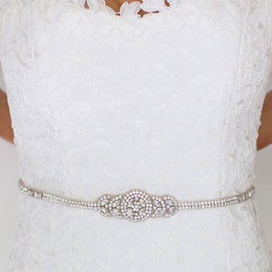 Hannah Bridal Belt - belts