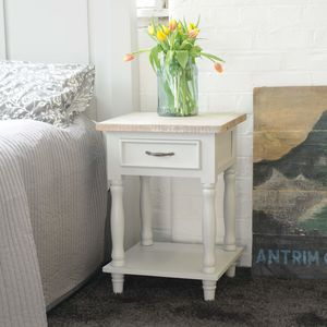 Bayonne Tall Side Table - bedroom