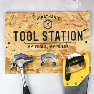 Personalised Tool Hooks - personalised gifts
