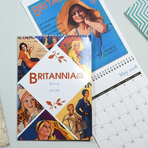 Britannia And Eve Personalised Calendar