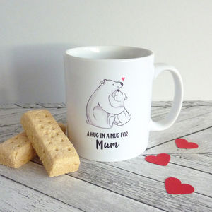 Bear Hug Personalised Mug