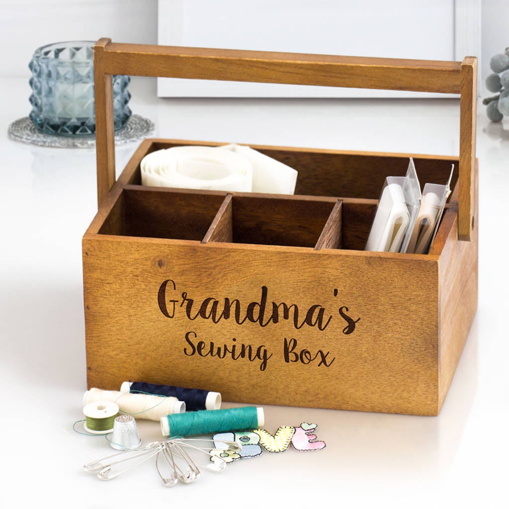 Personalised Sewing Caddy