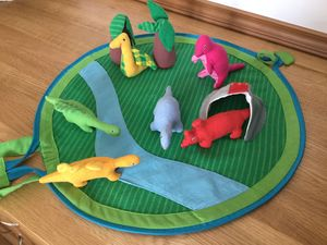 Fairtrade Dinosaur Play Set