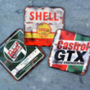 Oil Can Coasters