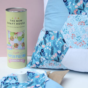 English Paper Pieced Cushion Sewing Kit