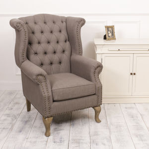 Diplomat Fabric Club Chair
