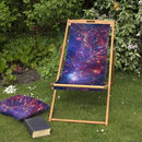 Galaxy Stars, Galactic Constellation Garden Deckchair
