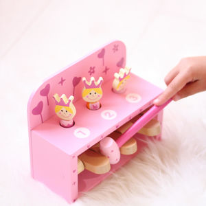 Personalised Princess Hammer Wooden Toy