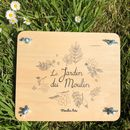 Childs Wooden Flower Press