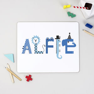 Personalised Children's Placemat - children's tableware
