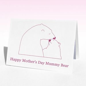 Mother's Polar Mother's Day Card